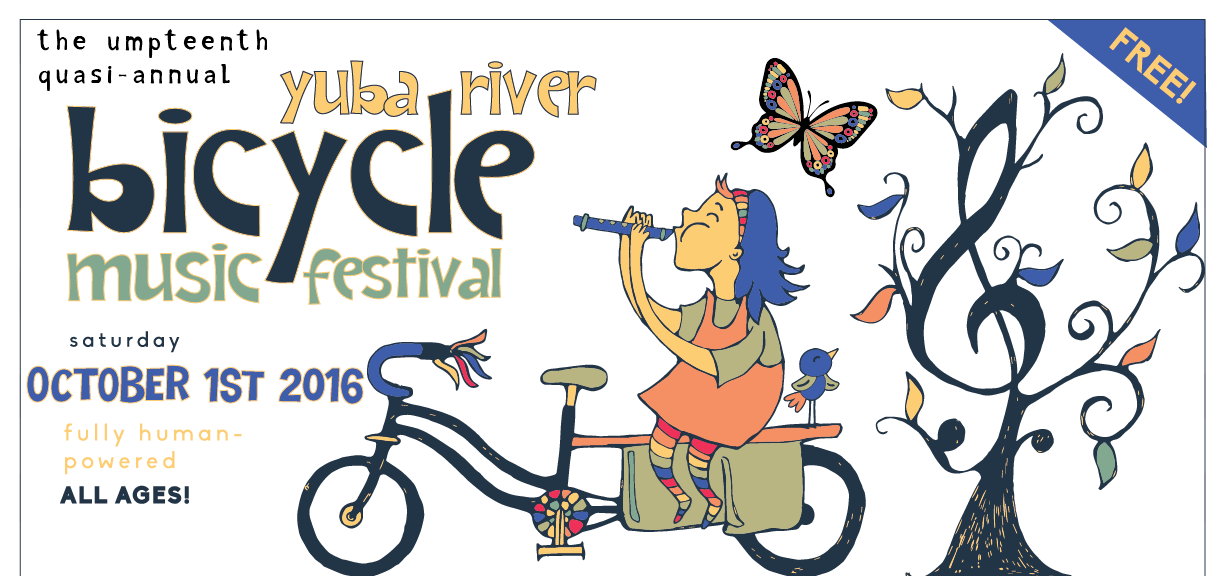 Yuba River Bicycle Music Festival
